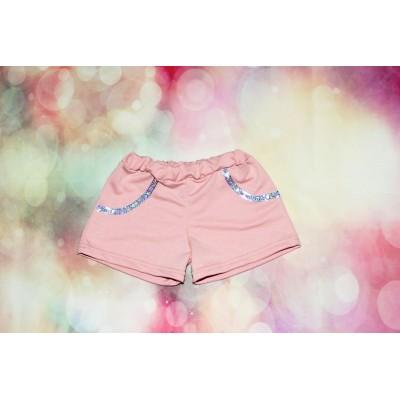 Детские шорты № 40 Премиум (двухнитка пенье) Размеры 28-34, Артикул: 1994