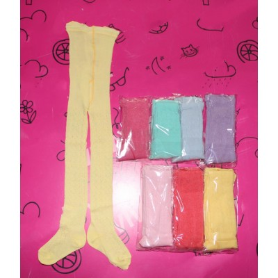 Колготки детские для девочек ажурные 521 цветные Размеры 14-20, Артикул: 1244