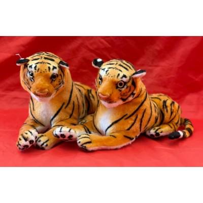 Мягкая игрушка Тигр 30см, рычит