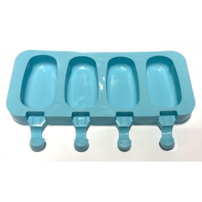 Форма силиконовая для мороженого 4 шт 25 см
