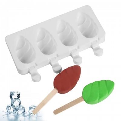 Форма силиконовая для мороженого 4 шт Шишки