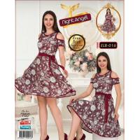 Молодежное платье свободного размера Турция (46-50р) Night Angel 016