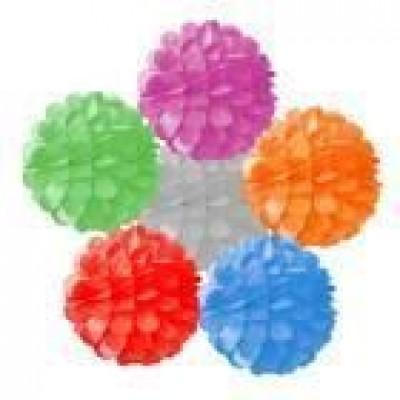 Бумажный шар цветок (20см)
