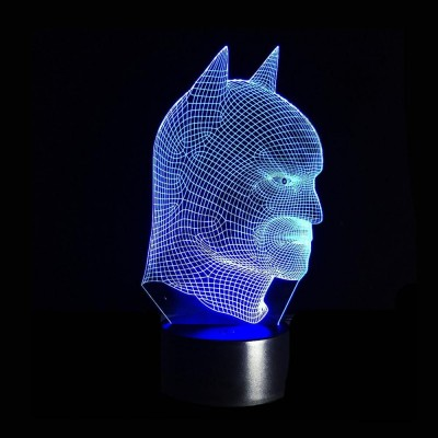 Светильник 3D Бэтмен