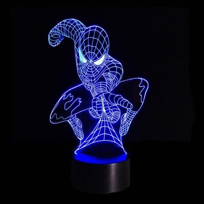 Светильник 3D Спайдермен