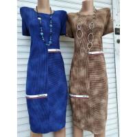 Платье женское ФЭШЭН. Размеры 50-58. Расцветки в ассортименте
