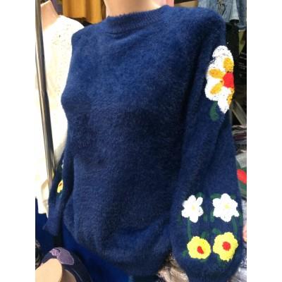 Свитер женский 4155, Расцветки в ассортименте.