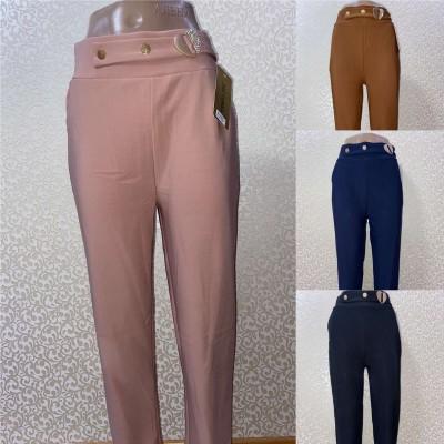 Однотонные яркие женские брюки Ласточка, размеры: 2xl,3xl,4xl