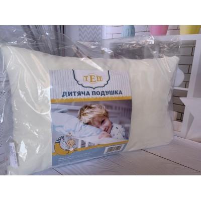Детская подушка размер 40/60 см, наполнитель холофайбер