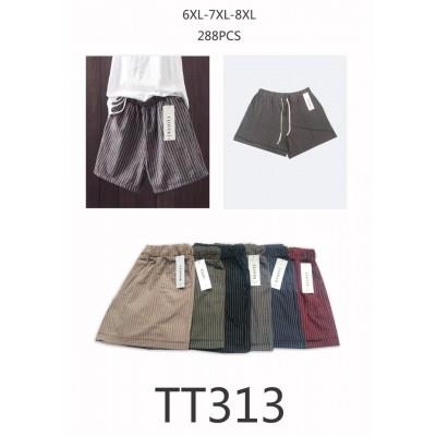 Женские котоновые шорты, размеры 6XL-8XL (в уп. один цвет)
