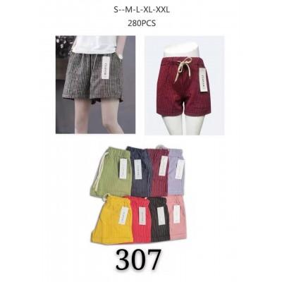 Женские котоновые шорты НОРМА (р-р 42-50) 307 (в уп. один цвет)