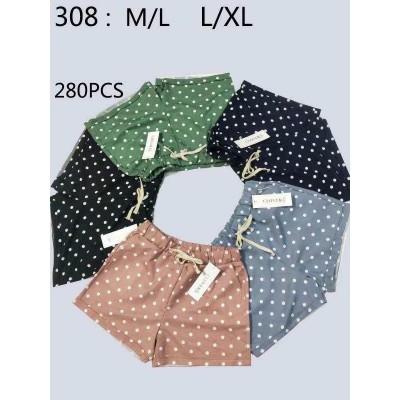 Женские трикотажные шорты НОРМА (р-р 42-50) 309 (в уп. один цвет)