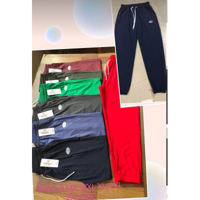 Штаны спортивные женские Kenallin 9420-2 норма р.2XL-4XL