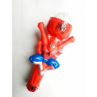 Музыкальный микрофон проектор супергерои marvel человек паук