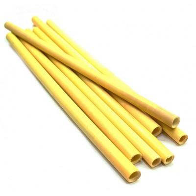 Трубочка коктельная бамбуковая (в уп 10 шт)(25 см)