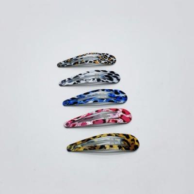 Хлопушка тик-так металлическая 5 см, цвета и рисунки в ассортименте