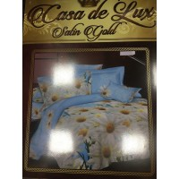 """Постельный комплект """"Casa de Lux"""" Satin Gold (сатин 1,5), расцветки в ассортименте"""