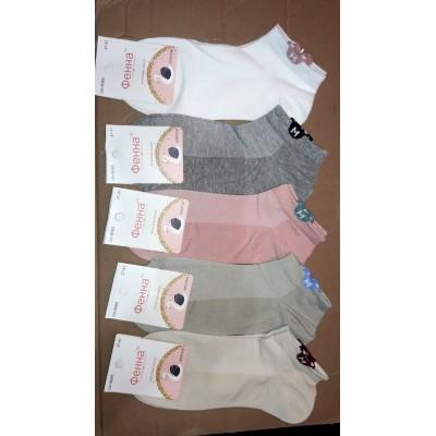 "Короткие женские носки ""Фенна"" сетка"