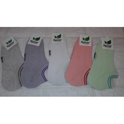 Короткие женские носки сетка (36-41Р) Узбекистан