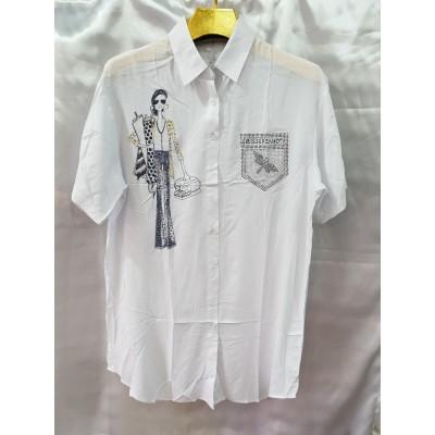 Рубашка женская 6069, Р.52-60
