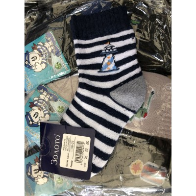 Махровые детские носки .р 16-21