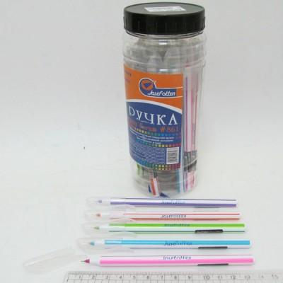 """Ручка масляная JOtten """"Forum"""" Индия 0,6мм (банка/30, mix) синяя 861"""