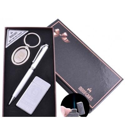 Подарочный набор брелок, ручка, зажигалка Jack Daniel's (Острое пламя) №AL-111B