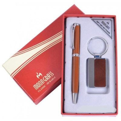 Подарочный набор Moongrass Ручка/Брелок №AL-612