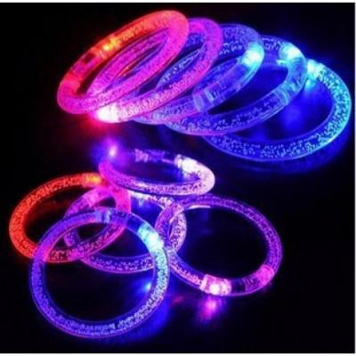 Светящиеся браслеты. При нажатии на кнопку браслет светится