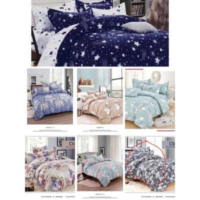 Комплект постельного белья сатин-байка, семья