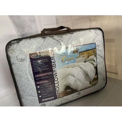 Одеяло холофайбер цельный (супер тёплый) размеры 200/220 Casa de lux