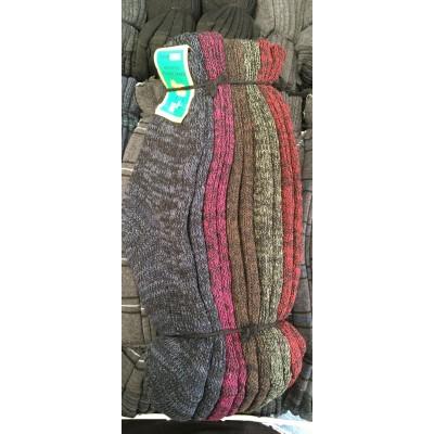 Носки женские тёплые, полушерсть (баран) Размеры 23-25