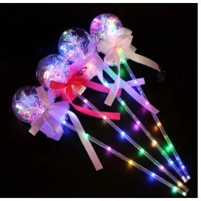 Светящая палка ассорти с шариками