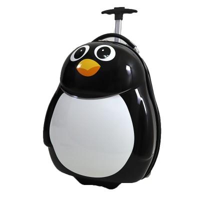 Чемодан детский на 2 колесах Пингвинчик 16