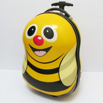 Чемодан детский на 2 колесах Пчелка 17