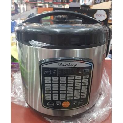 Мультиварка Rainberg RB-6208, 42 программ, 6 л (1000W) + йогуртница, пароварка