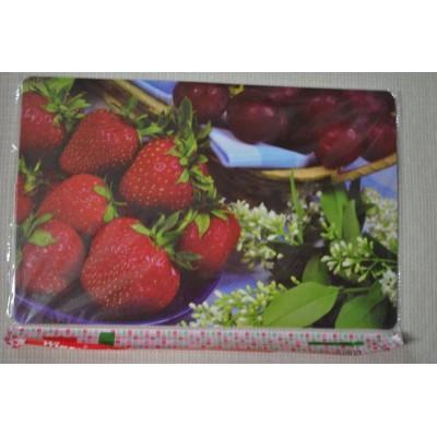 Сервировочная салфетка пластиковая 42*27. В упаковке 12 шт