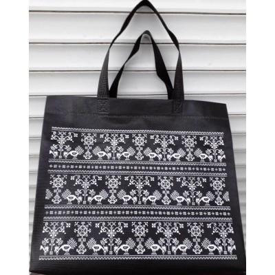 Эко сумка женская, размер 32x27x10см