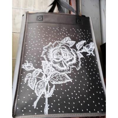 Эко сумка без молнии, размер 26x20x8см, расцветки в ассортименте