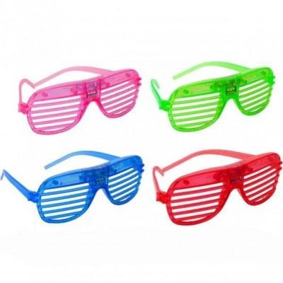 Светящиеся очки, мигают разными цветами