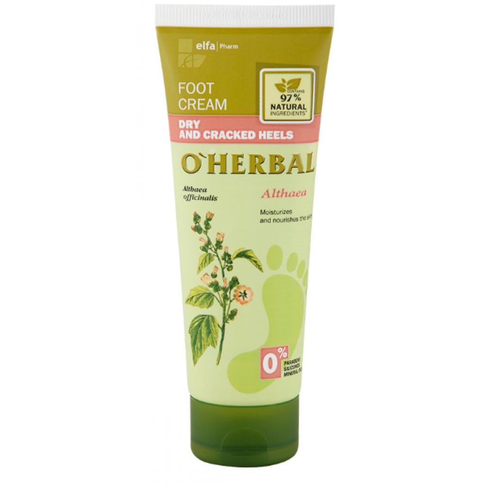 e785dd988ecc9 Купить O'Herbal Крем для ног для сухих пят 75ml - в интернет ...
