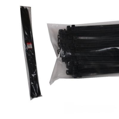 Стяжка кабельная чёрная 9x1220
