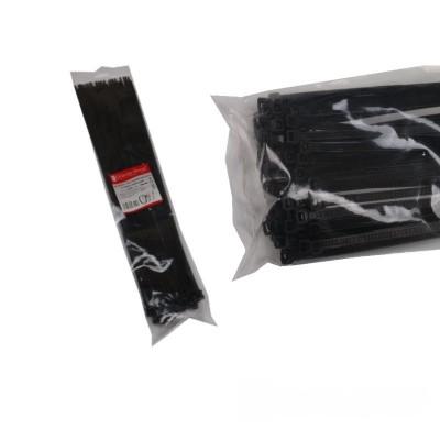 Стяжка кабельная чёрная 8x500