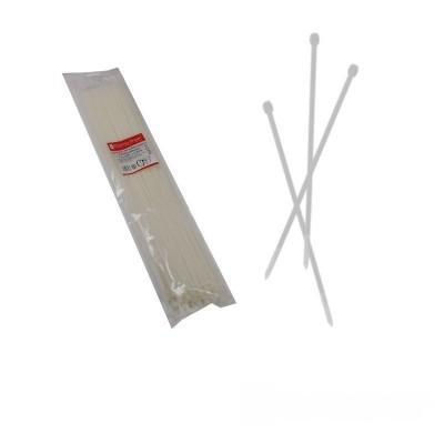 Стяжка кабельная белая 5x500