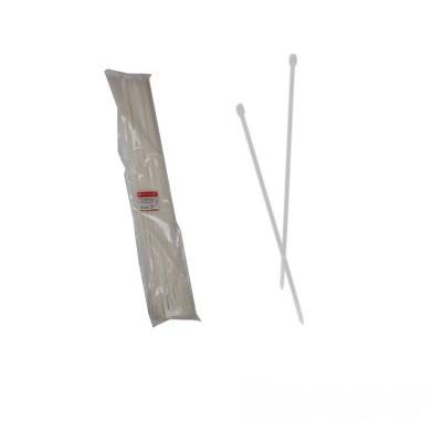 Стяжка кабельная белая 9x1000