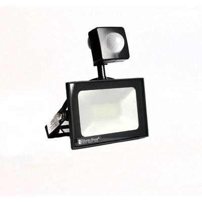 LED прожектор с датчиком движения 10W 6500K 900Lm IP65