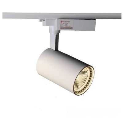 LED светильник трековый 30W белый 4100K 2700Lm