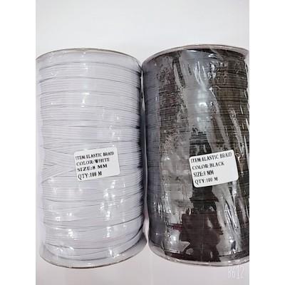 Резинка швейная плоская 8мм (144ярда)