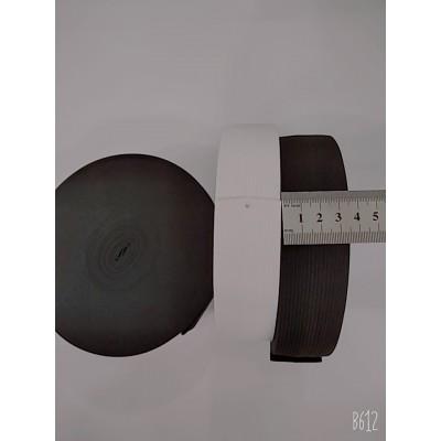Резинка широкая 3,5см, на бобине 25м, цвет белый и чёрный