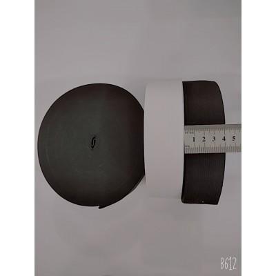 Резинка широкая 4см, на бобине 25м, цвет белый и чёрный